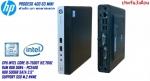 PC HP Pro Desk 400 G3 mini Corei5-7500T Ram 8 GB HDD 500 GB NO DVD  โปรแกรมพร้อม